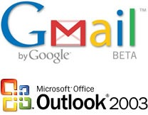 Gmail & Outlook Logos