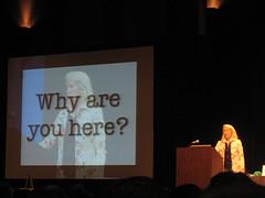Kathy Sierra presenting at SXSWi 2008