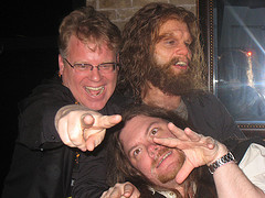Robert Scoble, Ewan Spence, and the Geico Caveman