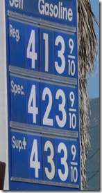 crazy gas prices