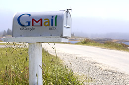 Gmail outdoor mailbox