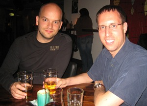 Atli & I in Reykjavik