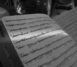 Moleskine Task List