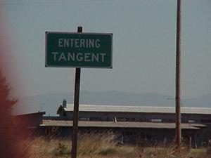 Entering Tangent