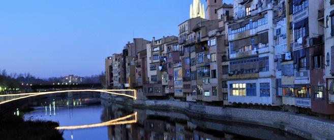 Girona, last night.
