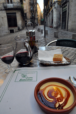A wonderful 3-course lunch in Girona (more courses are within the link)