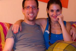 Marta and I