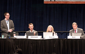 "Moderating ""Presenting Straight to the Brain"" at SXSWi 2008"