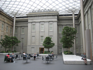 Kogod Courtyard of the National Portrait Gallery, by La Citta Vita